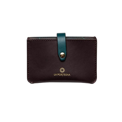 Eleonora Burgundy | La Portegna UK | Handmade Leather Goods | Vegetable Tanned Leather