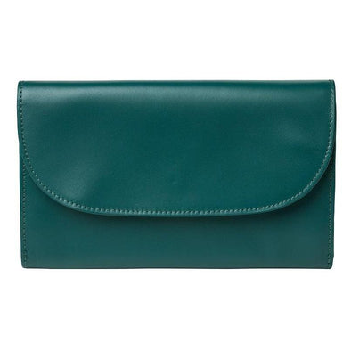 Lucia Petrol Chain Purses | La Portegna UK | Handmade Leather Goods | Vegetable Tanned Leather