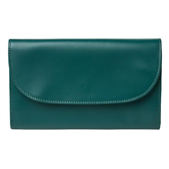 Lucia Petrol Chain | Purses UK | La Portegna UK | Handmade Leather Goods | Vegetable Tanned Leather