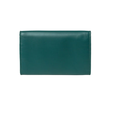 Lucia Mini Purse Petrol Purses | La Portegna UK | Handmade Leather Goods | Vegetable Tanned Leather