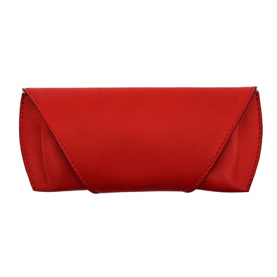 Leather Glasses Case | Red Sunglasses Case