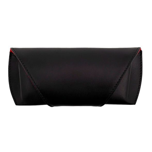 Leather Glasses Case | Black Sunglasses Case
