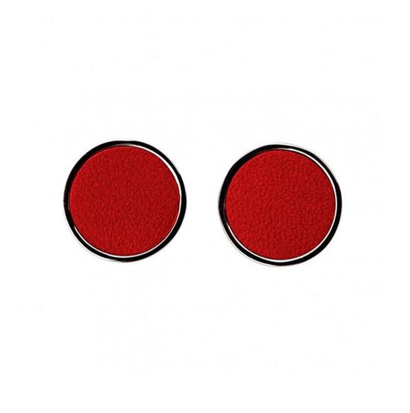 Personalised Cufflinks | Douglas Red - Front