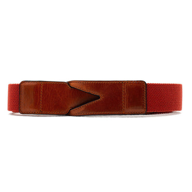 Branson Red | Belts UK | La Portegna UK | Handmade Leather Goods | Vegetable Tanned Leather