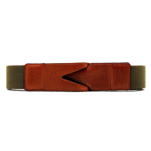 Branson Green Belts | La Portegna UK | Handmade Leather Goods | Vegetable Tanned Leather