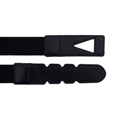 Belt crafted from quality cotton and full grain vegetable tanned leather.