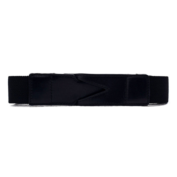 Cotton belt Branson Black by La Portegna handmade in Spain