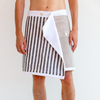 Jerry Icon Black Stripes Short | UK | La Portegna UK | Handmade Leather Goods | Vegetable Tanned Leather