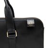 Slim Carter Black | Briefcases UK | La Portegna UK | Handmade Leather Goods | Vegetable Tanned Leather
