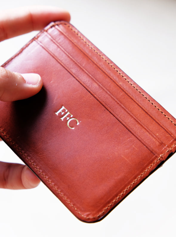 Item Personalization | PPLR_HIDDEN_PRODUCT UK | La Portegna UK | Handmade Leather Goods | Vegetable Tanned Leather
