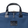 Borja Suit Holder Navy | UK | La Portegna UK | Handmade Leather Goods | Vegetable Tanned Leather
