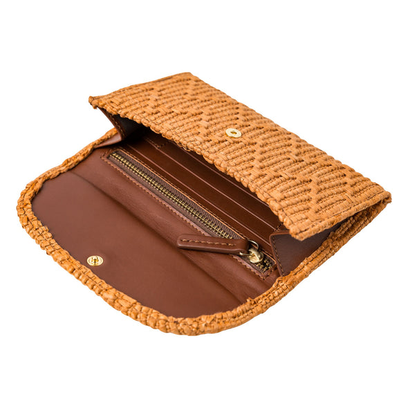 Lucia Mini Purse Jute Caramel