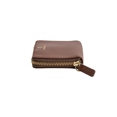 Baby Julia Tabaco | Wallets UK | La Portegna UK | Handmade Leather Goods | Vegetable Tanned Leather