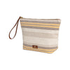 Beach Pouch Yellow | UK | La Portegna UK | Handmade Leather Goods | Vegetable Tanned Leather