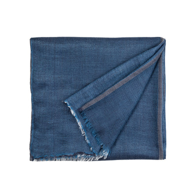Pashmina Navy | Pashmina UK | La Portegna UK | Handmade Leather Goods | Vegetable Tanned Leather