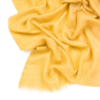 Pashmina Yellow | Pashmina UK | La Portegna UK | Handmade Leather Goods | Vegetable Tanned Leather