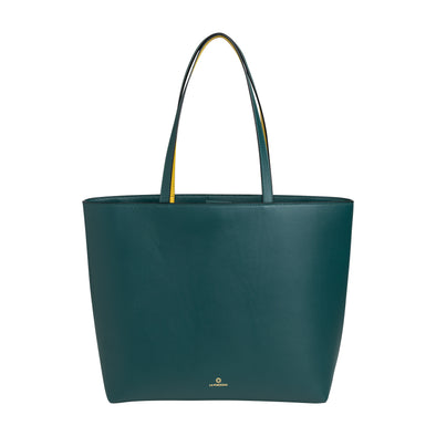 Olivia Tote Petrol | Shoulder Bags UK | La Portegna UK | Handmade Leather Goods | Vegetable Tanned Leather