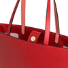 Olivia Tote Red | Shoulder Bags UK | La Portegna UK | Handmade Leather Goods | Vegetable Tanned Leather