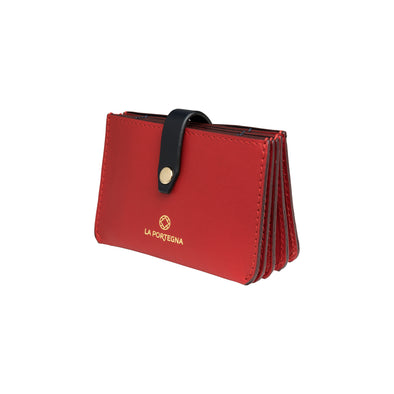 Eleonora Red | UK | La Portegna UK | Handmade Leather Goods | Vegetable Tanned Leather