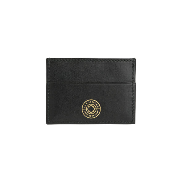 Sierra Horizontal Black & Yellow | Wallets UK | La Portegna UK | Handmade Leather Goods | Vegetable Tanned Leather
