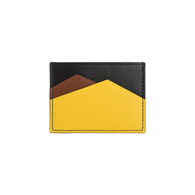 Sierra Horizontal Black | Wallets UK | La Portegna UK | Handmade Leather Goods | Vegetable Tanned Leather