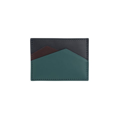 Sierra Horizontal Navy | Wallets UK | La Portegna UK | Handmade Leather Goods | Vegetable Tanned Leather