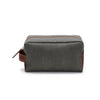 Dopp Kit Green | Washcases UK | La Portegna UK | Handmade Leather Goods | Vegetable Tanned Leather