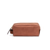 Mini Dopp Kit Terracota | Washcases UK | La Portegna UK | Handmade Leather Goods | Vegetable Tanned Leather