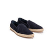 Dani Suede Navy | Espadrilles UK | La Portegna UK | Handmade Leather Goods | Vegetable Tanned Leather