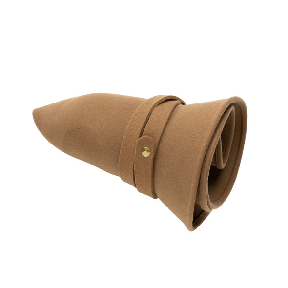 Mendoza Hat Camel | UK | La Portegna UK | Handmade Leather Goods | Vegetable Tanned Leather