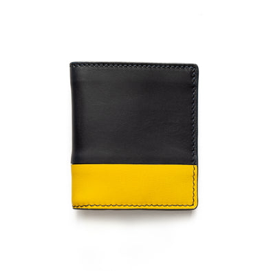 Bill Navy | Wallets UK | La Portegna UK | Handmade Leather Goods | Vegetable Tanned Leather