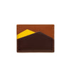Sierra Horizontal Sol & Yellow | Wallets UK | La Portegna UK | Handmade Leather Goods | Vegetable Tanned Leather