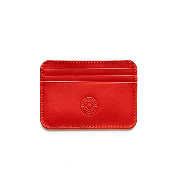Humphrey Red | Wallets UK | La Portegna UK | Handmade Leather Goods | Vegetable Tanned Leather