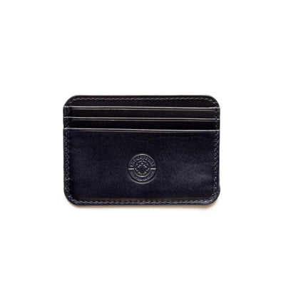 Humphrey Double Navy | Wallets UK | La Portegna UK | Handmade Leather Goods | Vegetable Tanned Leather