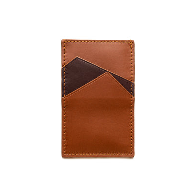 Sierra Vertical Sol | Wallets UK | La Portegna UK | Handmade Leather Goods | Vegetable Tanned Leather