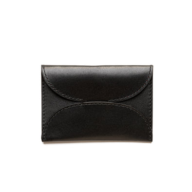 Evita Black | Wallets UK | La Portegna UK | Handmade Leather Goods | Vegetable Tanned Leather