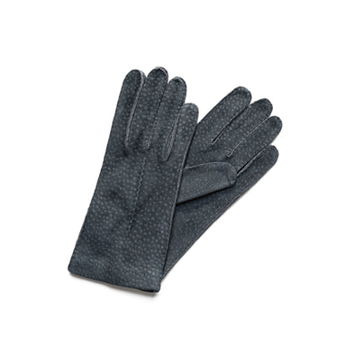 Exotic Blue | Gloves UK | La Portegna UK | Handmade Leather Goods | Vegetable Tanned Leather