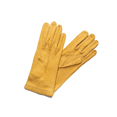Exotic Mustard | Gloves UK | La Portegna UK | Handmade Leather Goods | Vegetable Tanned Leather