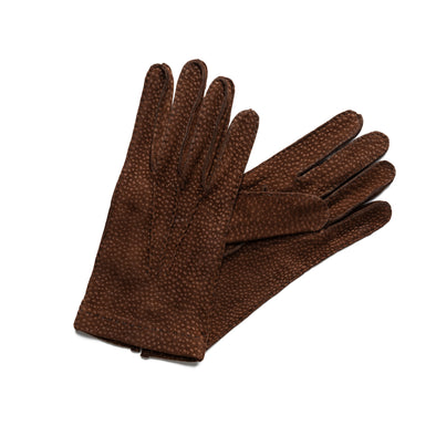 Capybara Brown | Gloves UK | La Portegna UK | Handmade Leather Goods | Vegetable Tanned Leather