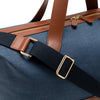 Palma Weekender Navy | Travel Bags UK | La Portegna UK | Handmade Leather Goods | Vegetable Tanned Leather