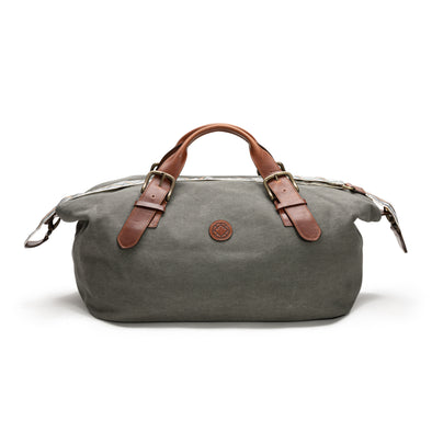 Mick Olive Green | Travel Bags UK | La Portegna UK | Handmade Leather Goods | Vegetable Tanned Leather