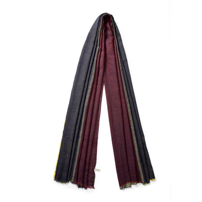 Pashmina Tricolor | Pashmina UK | La Portegna UK | Handmade Leather Goods | Vegetable Tanned Leather