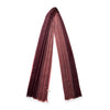 Pashmina Burgundy | Pashmina UK | La Portegna UK | Handmade Leather Goods | Vegetable Tanned Leather