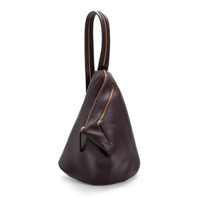 Jane Rucksack Burgundy | UK | La Portegna UK | Handmade Leather Goods | Vegetable Tanned Leather