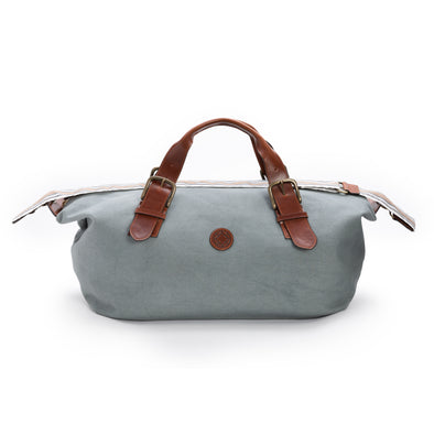 Mick Aqua Green | Travel Bags UK | La Portegna UK | Handmade Leather Goods | Vegetable Tanned Leather