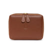 Washcase Brown | Washcases UK | La Portegna UK | Handmade Leather Goods | Vegetable Tanned Leather