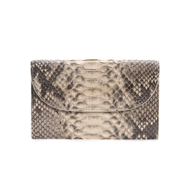 Lucía Purse Python | Purses UK | La Portegna UK | Handmade Leather Goods | Vegetable Tanned Leather