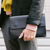 Jimena iPad Black Device Cases | La Portegna UK | Handmade Leather Goods | Vegetable Tanned Leather
