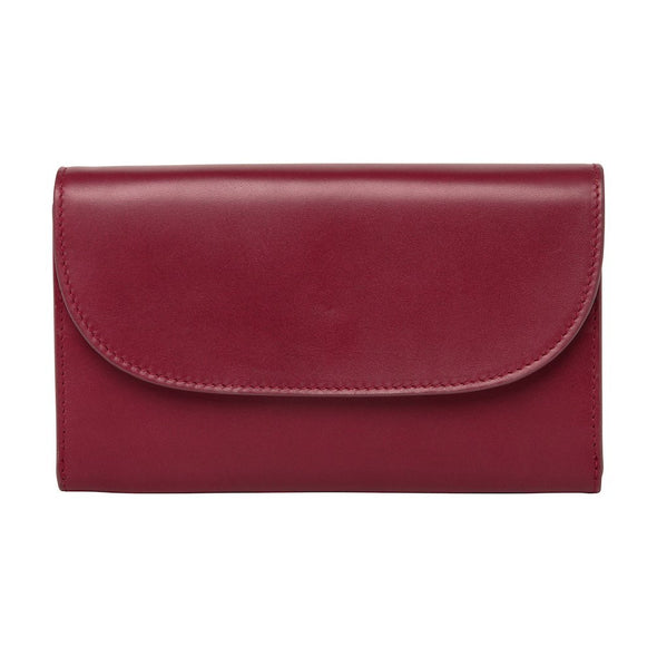 Leather Crossbody Bag | Purses | Lucia Cherry Chain - Front