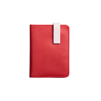 Willy Red Wallets | La Portegna UK | Handmade Leather Goods | Vegetable Tanned Leather